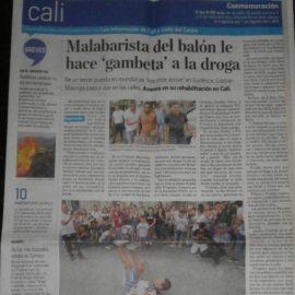 Nuestro director Freddy Perez hoy en el periódico el Tiempo